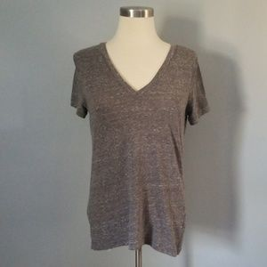 Heather gray t